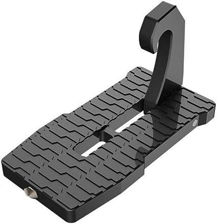 Warmtower - Uñas para puerta de coche con martillo de seguridad, escalera para escalera de vehículo, pedal
