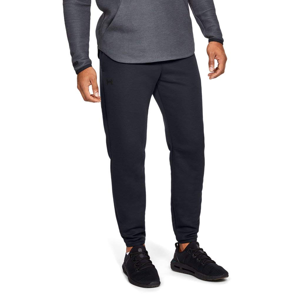 Under Armour Men's Unstoppable Move Light Jogger, Black//Reflective, Small