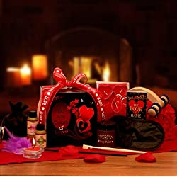 Heat up the Night Romantic Valentine's Day Gift Basket