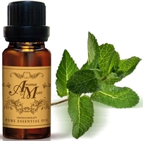Spearmint Essential Oil 100% (USA) (Mentha spicata) (Minty Scent) 100 ml (3 1/3 Fl Oz)-Health