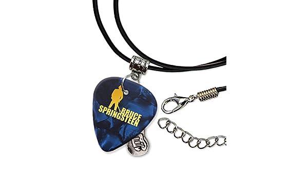 Bruce Springsteen Púa de Guitarra Collar de la Cuerda Necklace ...
