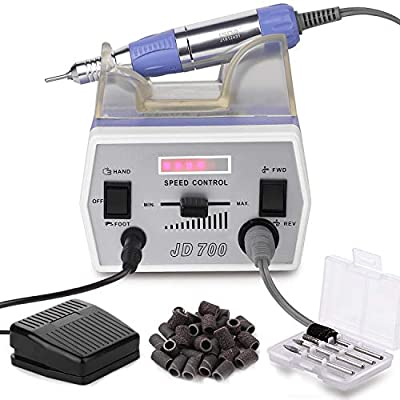 Makartt Nail Drill Machine Professional 30000RPM Efile Electric Nail Drill Remove Acrylic Nail Gel Polish Extension Gel Manicure Drill for Home and Salon Use B-01