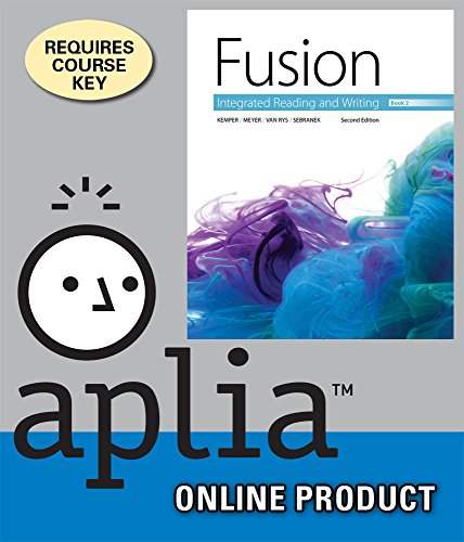 aplia-for-kemper-meyer-van-rys-sebraneks-fusion-integrated-reading-and-writing-book-2-2nd-edition