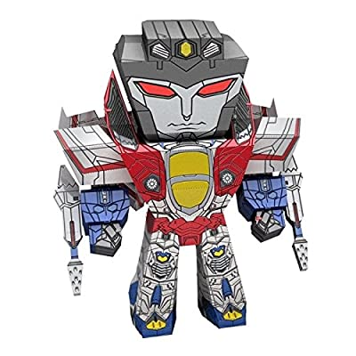 Fascinations Metal Earth Transformers Caricature Starscream 3D Metal Model Kit: Home & Kitchen