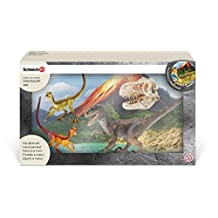 Schleich Velociraptor on The Hunt Play Set