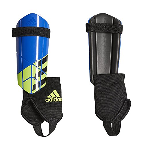 - adidas X Youth Shin Guards, Football Blue/Black/Solar Yellow, Large
