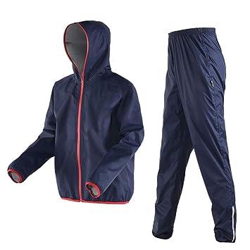 RYY Chubasqueros Traje de lluvia (conjunto de chaqueta de ...