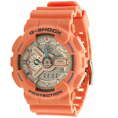 Casio G Shock Faded Orange GA110DN 4A