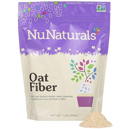 NuNaturals - NuGrains - Oat Fiber - Non-GMO Certified - 1 (Oat Fiber)