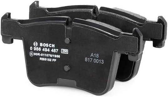 Bosch 0 986 494 487 Bremsbelagsatz Scheibenbremse 4 Teilig Auto