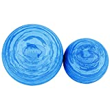 6 in. EVA Posture Ball in Marble Blue