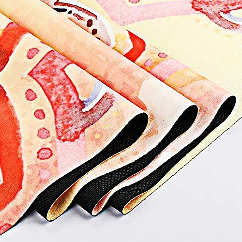 Goldener Kronleuchter Estera De La Yoga Estera De La Aptitud De La Yoga Estera De La Yoga/Estera Antideslizante Portátil De La Protección del Medio Ambiente ...