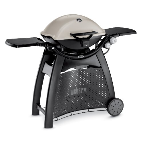 Weber 57060001 Q3200 Liquid Propane Grill (Fold Table With Small Sides Down)
