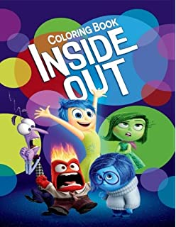 Inside Out Coloring Book For Kids And Adults With Fun Easy