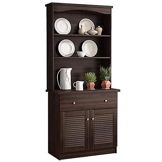 Armario de almacenamiento para microondas Espresso Buffet ...