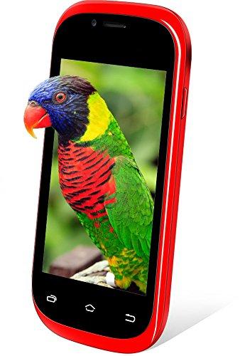 Kocaso Freedom One Unlocked Smartphone Dual 2G SIM Slot - WiFi - Bluetooth - Android 4.2 - Dual Camera (Red)