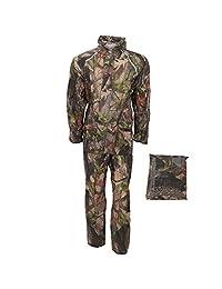 ProClimate Mens Waterproof Camouflage Rain Suit