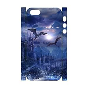 phone covers 3D Bumper Plastic Customized Case Of Dragon for iPhone 5c