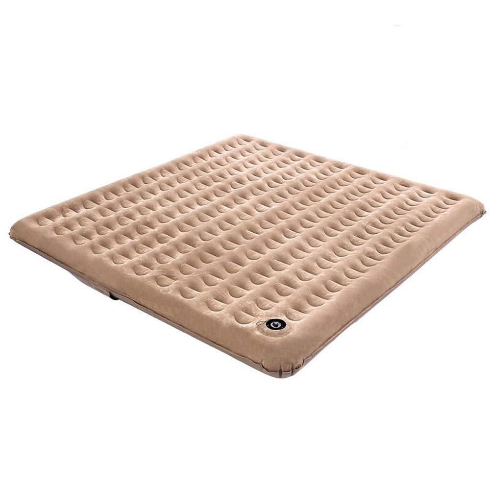RKY Luftbett- Outdoor aufblasbare Kissen tragbare Faltbare Wabengassäule eingebaute Luftpumpe Mehrpersonenzeltmatte / - / (Size : Double widening)