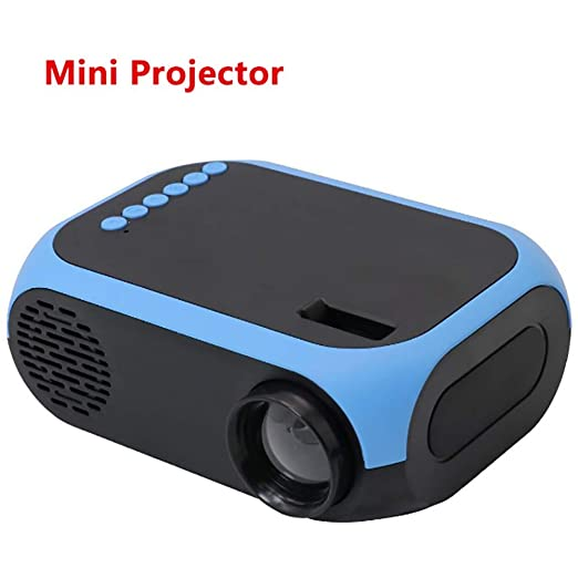 siberiantiger Mini Proyector Luz LED,Proyector Audiovisual 3D ...