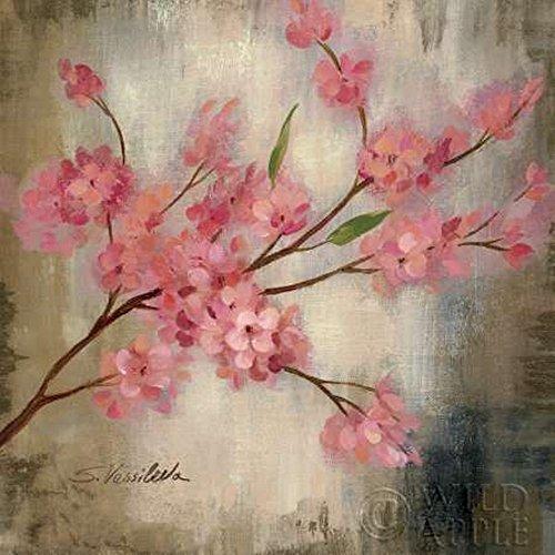 Cherry Blossom I - Decorative Floral Fine Art Print by Vassileva, Silvia - 5x5