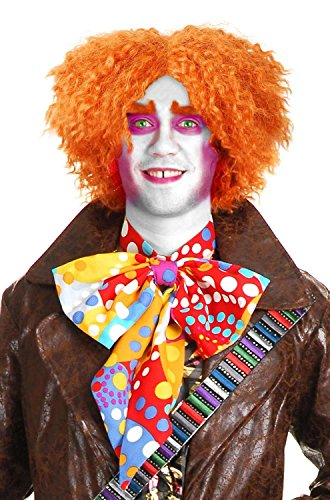 Charades Unisex Adult Mad Hatter Costume Wig, One Size ()