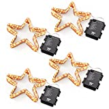 4 Pack of LED Battery Operated String Lights, TaoTronics Waterproof Led String Lights indoor and outdoor, Decorative Lights for Wedding, Party, Holiday. (1 Pack: 50 leds 16.4 feet)