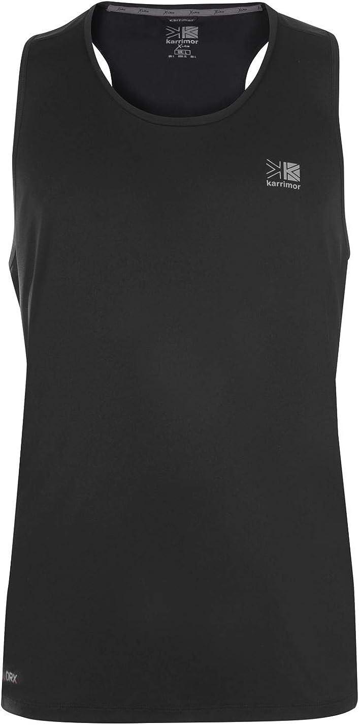 Karrimor Mens X Lite Running Vest Tank Top Short Sleeve