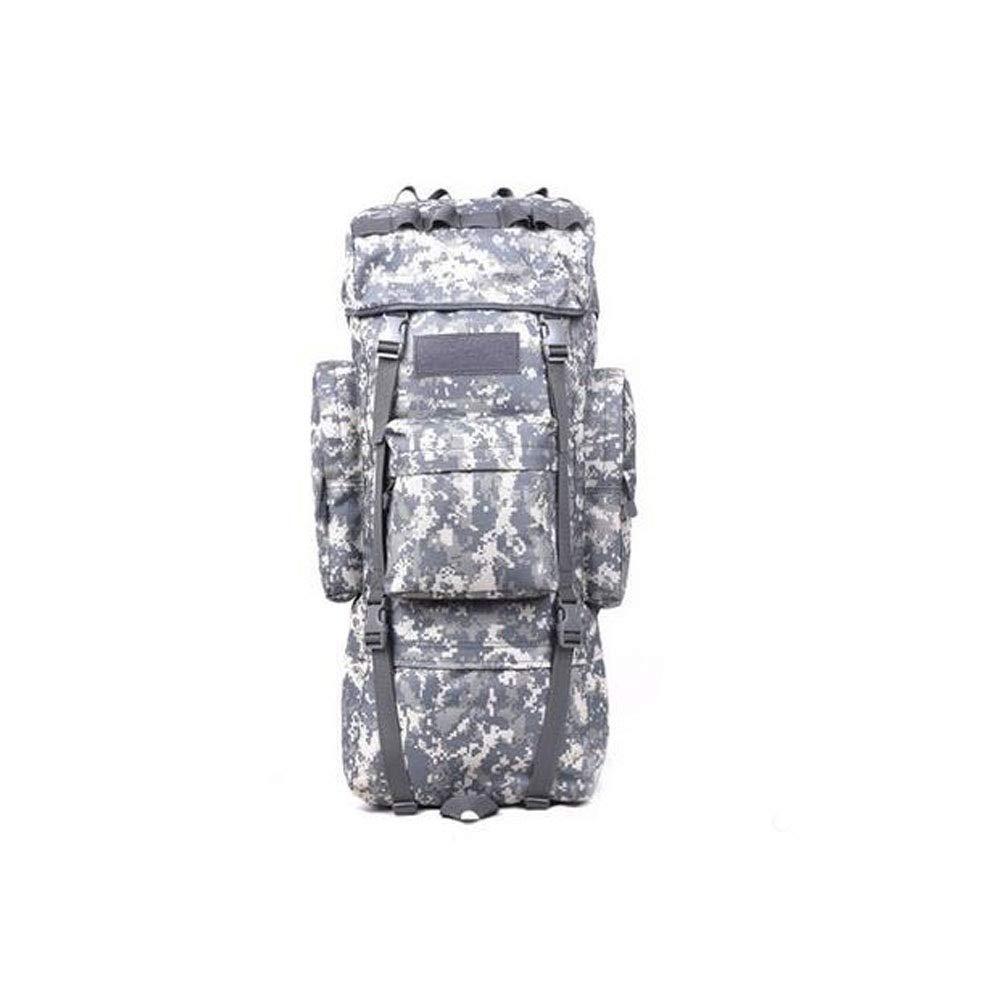 ミリタリー大容量屋外ポータブルバックパック、ミリタリー愛好家のバックパック、ハイキング旅行収納バッグ115 lブラックパイソンパターン B07S1T5GZG CamouflageB 115L