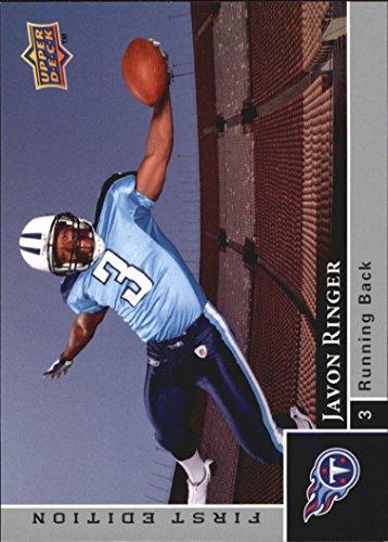 (2009 Upper Deck First Edition Silver #170 Javon Ringer - Football Card)