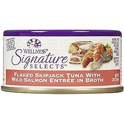 Wellness Signature Selects Flaked Tuna & Wild Salmon - 24x2.8oz