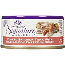 Wellness Signature Selects Flaked Tuna & Wild Salmon - 24x2.8oz