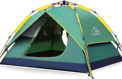 HEWOLF Wurfzelt Pop Up Zelt 2 3 Personen Campingzelte Wasserdichtes Winddicht Kuppelzelt Leichtes Sekundenzelt Sofortiges Aufstellen Strandzelt