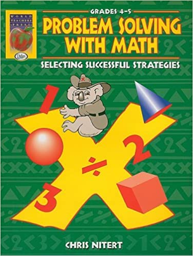 Book Problem Solving with Math, Grades 4-5