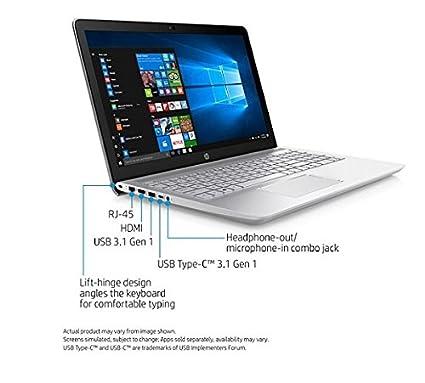 Amazon.com: HP Pavilion Laptop, 15.6 Screen, Intel Core i7, 8GB Memory, 1TB Hard Drive, Windows 10 Home, 15-cc055od: Computers & Accessories