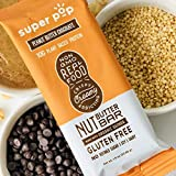 Super Pop Snacks, GLUTEN, SOY & DAIRY FREE, 10g Plant Based Protein, Peanut Butter Chocolate Protein Nut Butter Bar— 12 Pack