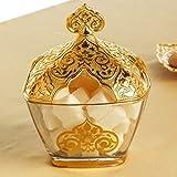 Vintage Sugar Bowl Gold Colour