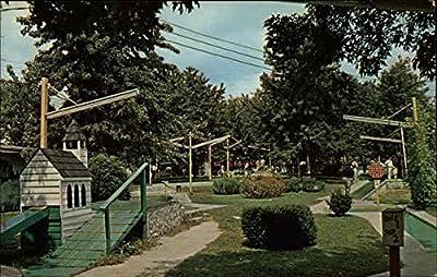 Miniature Golf Course Bowling Green, Kentucky Original Vintage Postcard