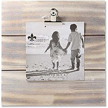 Amazon.com - Lawrence Frames Weathered Wood Frame Picture, 9x9 -