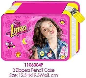 Pool over – Disney 017009.72 estuche triple, Soy Luna,: Amazon.es: Oficina y papelería