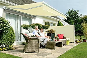 3 0m Full Cassette Electric Awning Ivory 3m Amazon Co