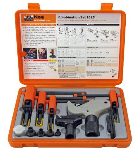 (Nes NES1025 Universal External/Internal Thread Repair Kit NES1A, 2, 21, 22, 23, 24, 6-Piece)