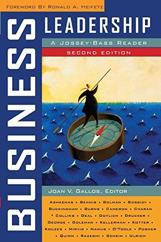 Business Leadership: A Jossey-Bass Reader