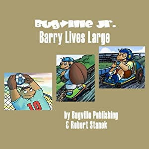 Barry Lives Large Audiobook