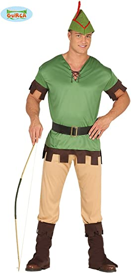 Disfraz de Arquero Robin Hood para hombre: Amazon.es: Juguetes y ...
