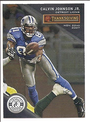 new product 736a1 0ffec Calvin Johnson Detroit Lions 2008 Panini Totally Certified ...
