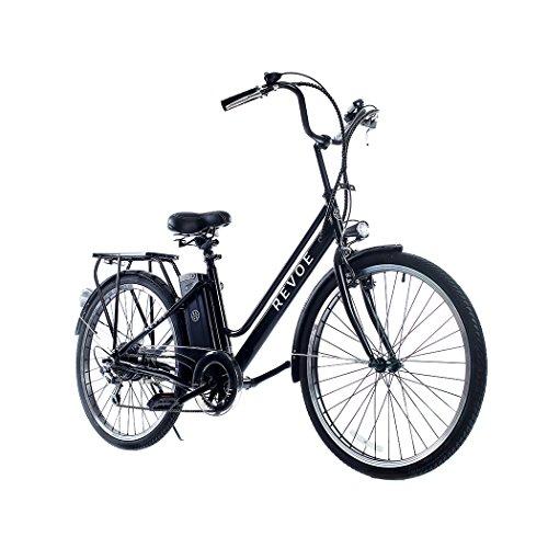 REVOE City Vélo Mixte Adulte, Noir