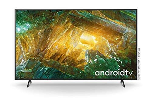 🥇 Sony KD-75XH8096 – Televisor 75″ 4K Ultra HD HDR LED con Android TV