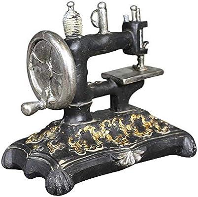 GLOBEAGLE Figura Decorativa en Miniatura de máquina de Coser de ...