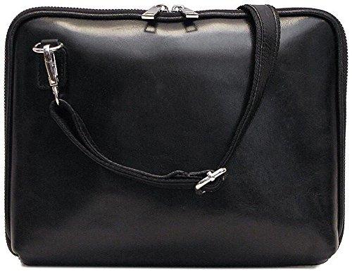 g in Black Italian Calfskin Leather (Calfskin Portfolio)